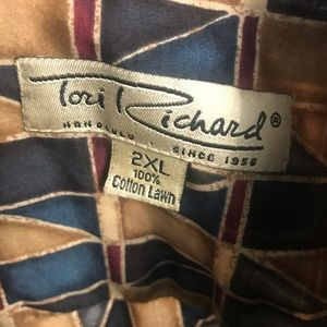 Tori Richard Shirts - Tori Richard Button Down Island Shirt Cotton